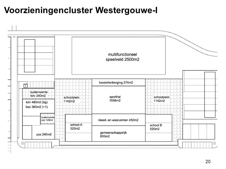 20 Voorzieningencluster Westergouwe-I