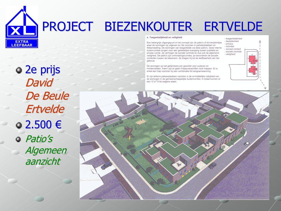 2e prijs David De Beule Ertvelde 2.500 € Patio's Algemeen aanzicht