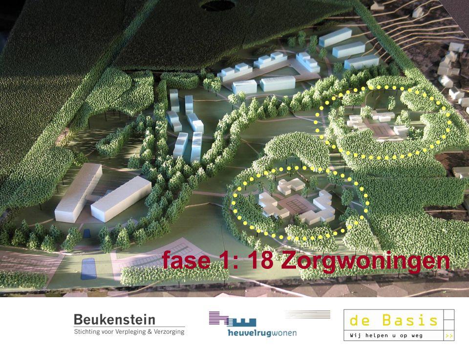 20 december 2010 fase 1: 18 Zorgwoningen