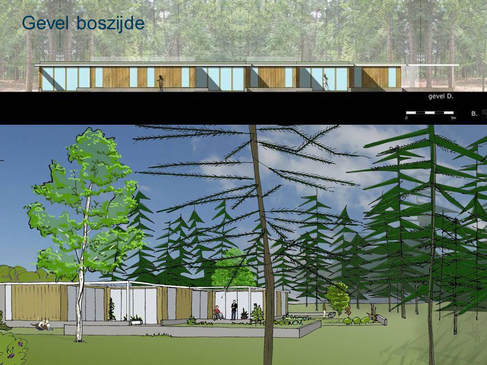 20 december 2010 Gebouwconcept Verbinding gebouw – omgeving: Besloten tuin Terrassen Verbindende as / wand Besloten tuin Terras Verbindende wand OAB gedenkplaats