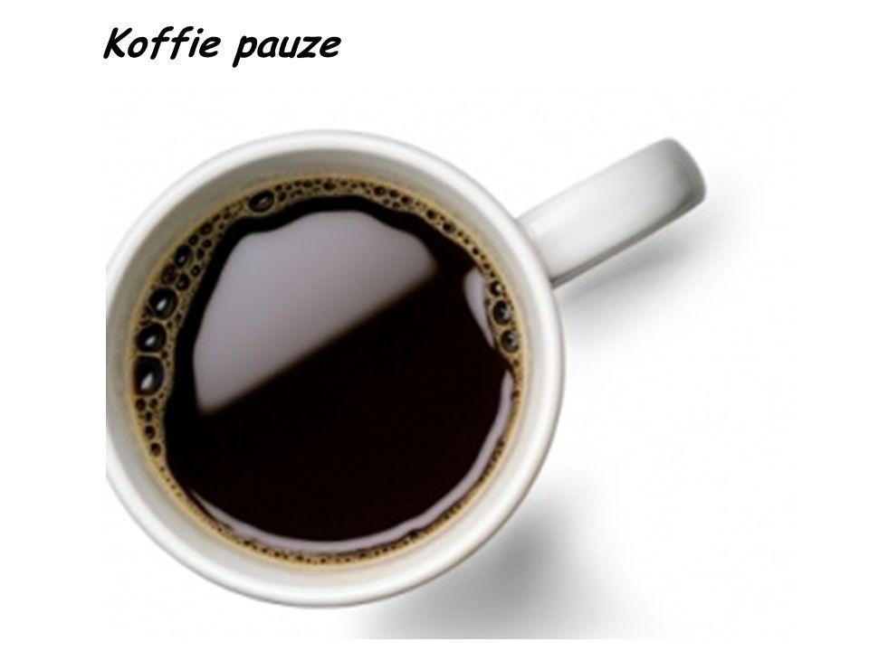 Koffie pauze