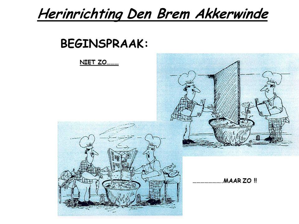 Herinrichting Den Brem Akkerwinde STEDENBOUW:.