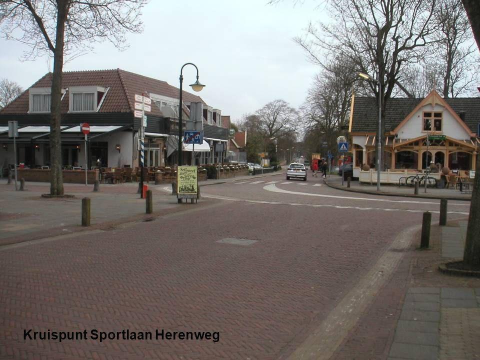 Kruispunt Sportlaan Herenweg