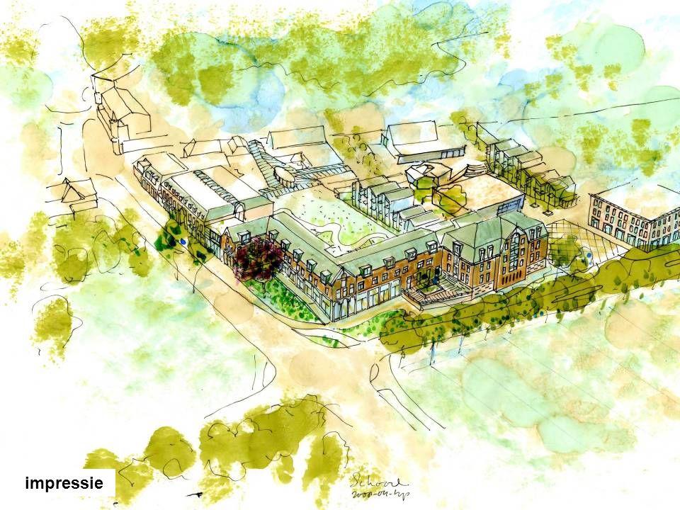 Een verkenning naar mogelijkheden voor de inpassing van wikles en woningen op de Locatie hoek Laanweg Sportlaan impressie