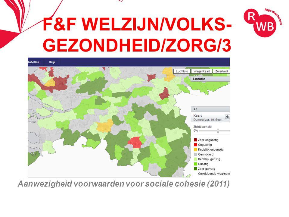 F&F WELZIJN/VOLKS- GEZONDHEID/ZORG/3 Aanwezigheid voorwaarden voor sociale cohesie (2011)