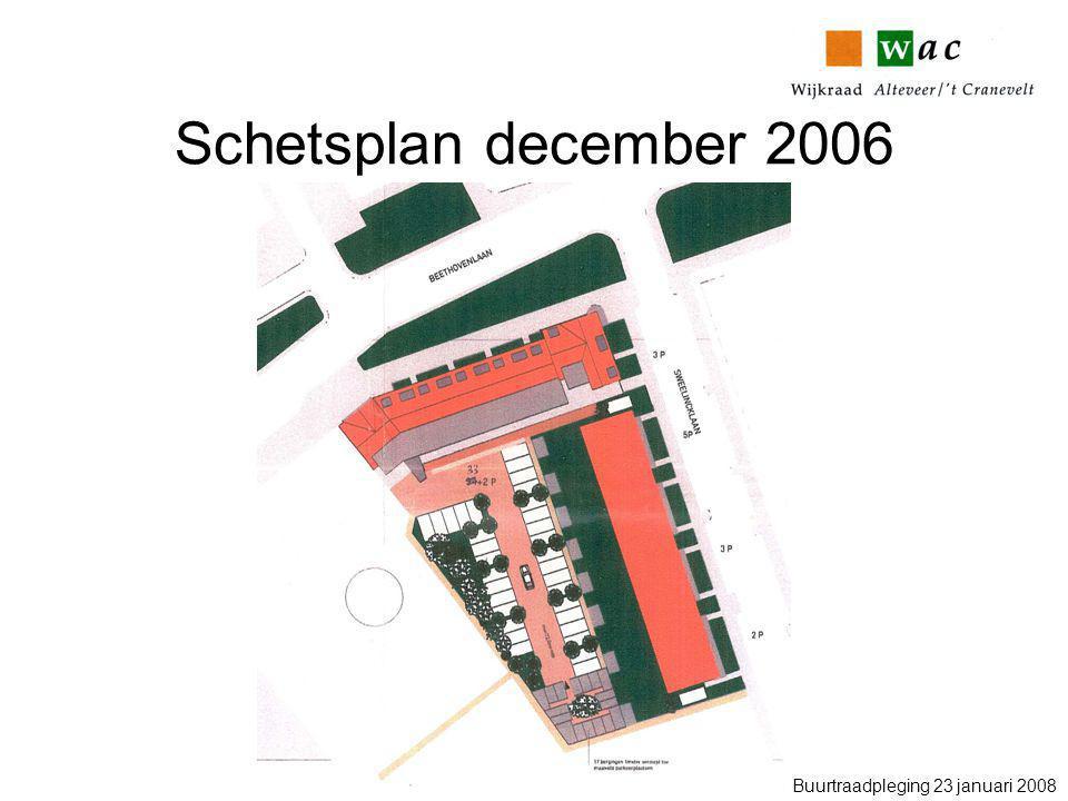 Schetsplan december 2006 Buurtraadpleging 23 januari 2008
