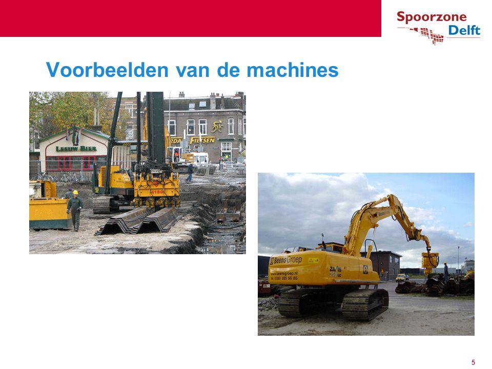 Voorbeelden van de machines 5