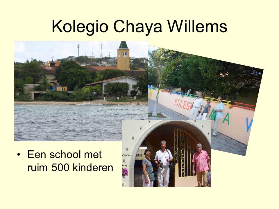 Kolegio Chaya Willems Een school met ruim 500 kinderen
