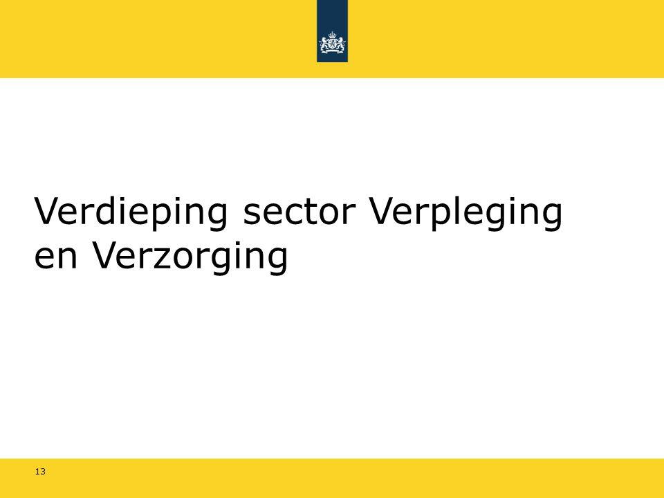 Verdieping sector Verpleging en Verzorging 13