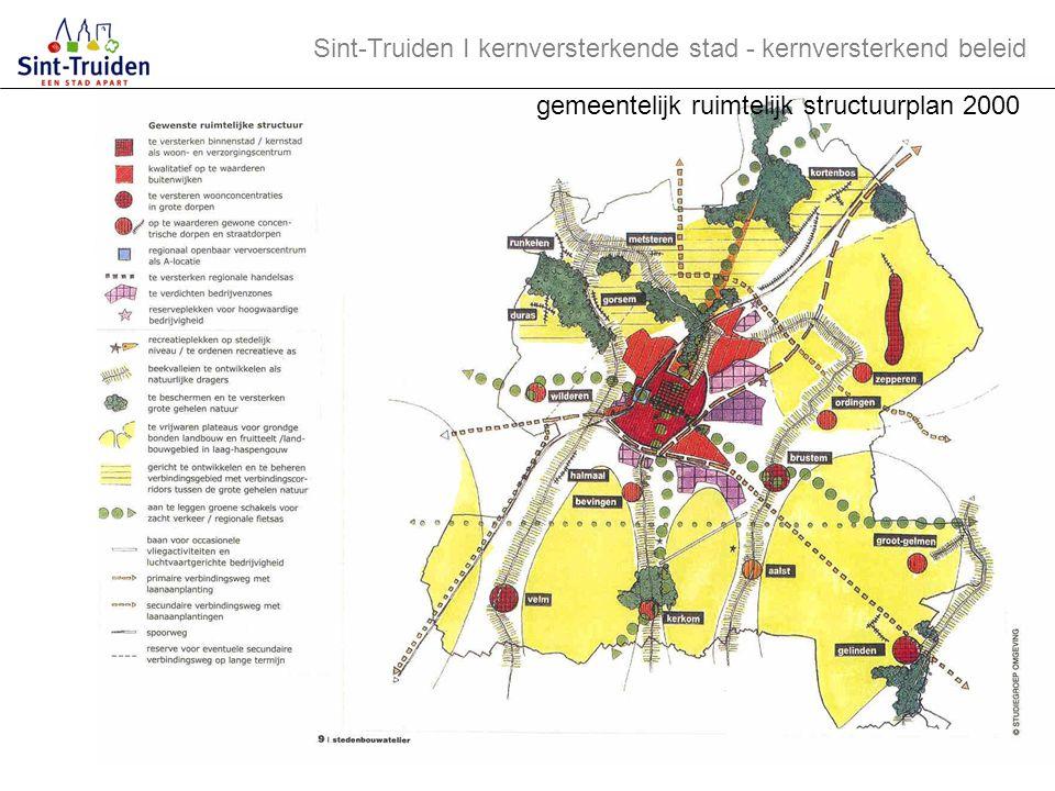 Sint-Truiden І kernversterkende stad - kernversterkend beleid GRS ruimtelijke concepten (1) 1.