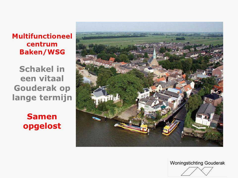Multifunctioneel centrum Baken/WSG Schakel in een vitaal Gouderak op lange termijn Samen opgelost