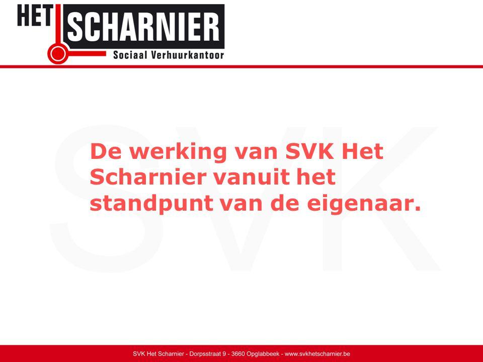 De werking van SVK Het Scharnier vanuit het standpunt van de eigenaar.