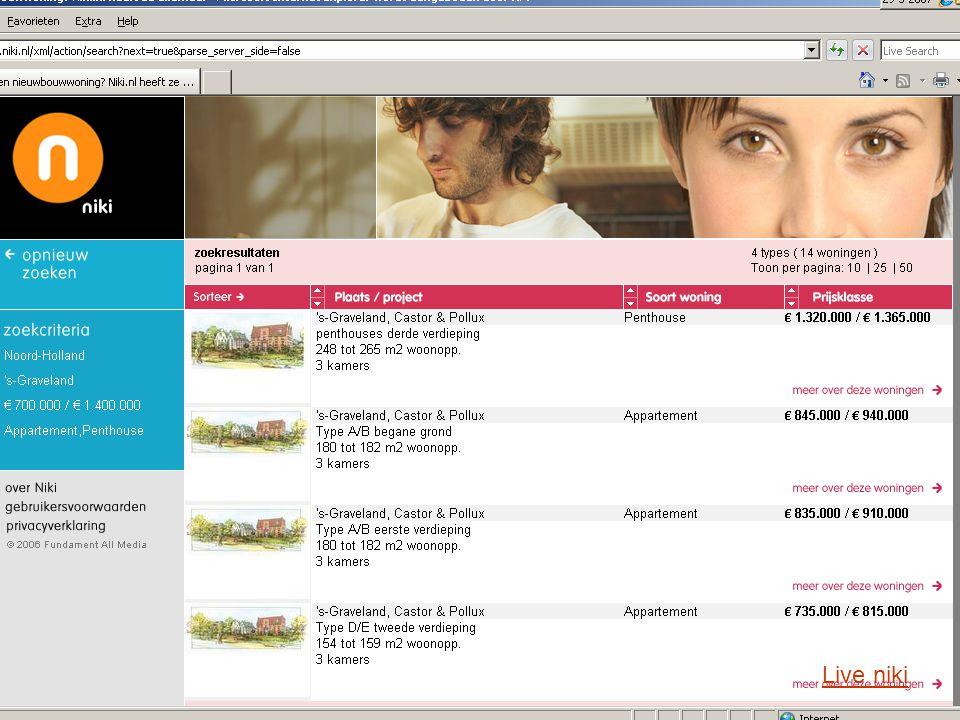 Stichting LNP Uitbreidingen systeem 2007 (1) Oplevering 01/04:  Wijk toevoegen aan steden bij zoekresultaatWijk  Aantallenrapportage + Nulmetingregistratie (nw.