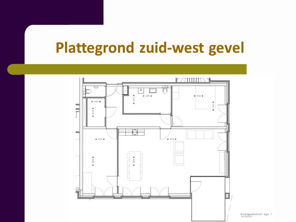 Indeling: hal, meterkast, toilet, berging, riante badkamer, hoofdslaapkamer, woonkamer met open keuken en toegang tot het halfinpandig balkon (circa 10 m2) of terras, tweede slaapkamer.