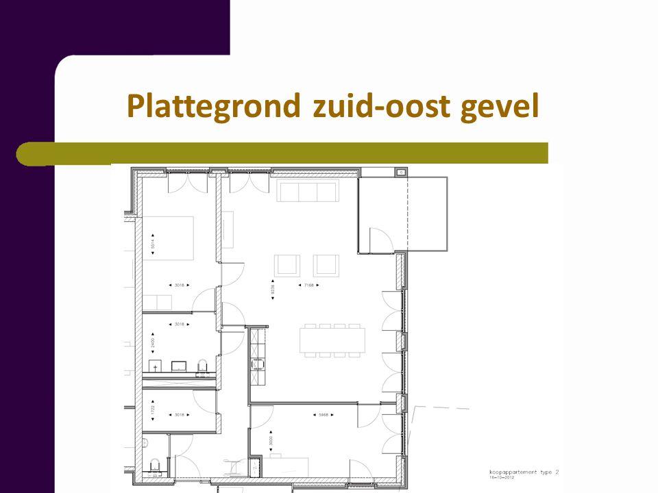Indeling: hal, meterkast, berging, badkamer, hoofdslaapkamer, woonkamer met open keuken en toegang tot het halfinpandig balkon (circa 10 m2), tweede slaapkamer.