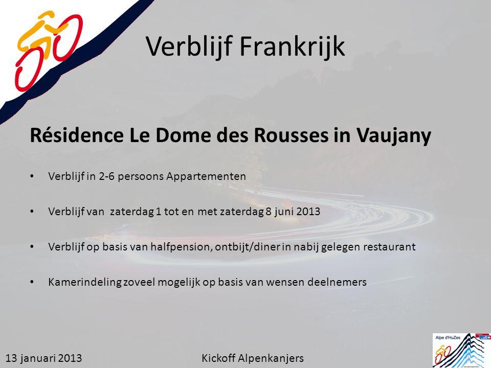 Verblijf Frankrijk Résidence Le Dome des Rousses in Vaujany Verblijf in 2-6 persoons Appartementen Verblijf van zaterdag 1 tot en met zaterdag 8 juni