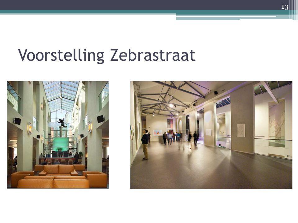 Voorstelling Zebrastraat 13