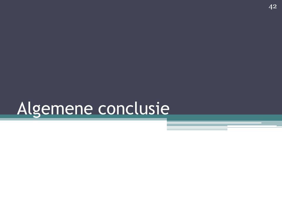 Algemene conclusie 42