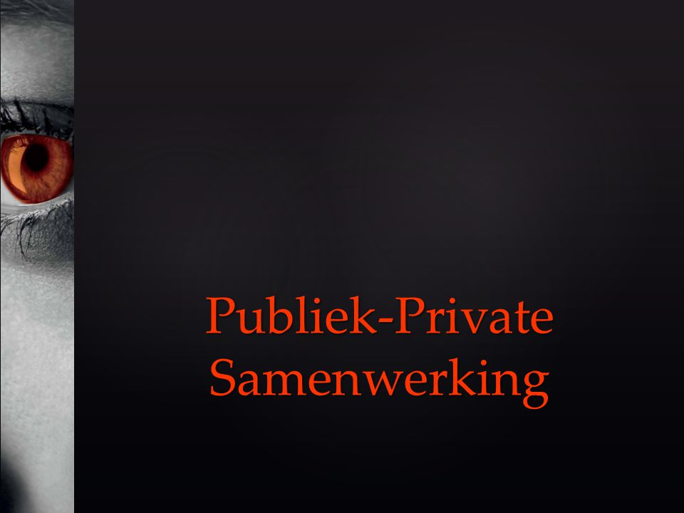Publiek-Private Samenwerking