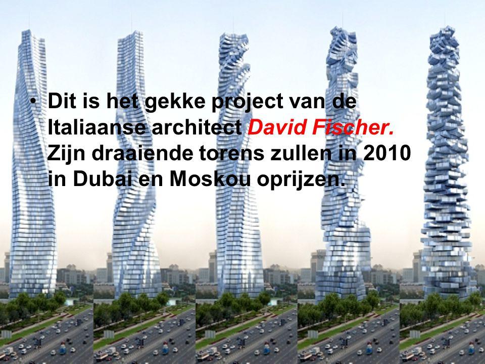 Dit is het gekke project van de Italiaanse architect David Fischer.
