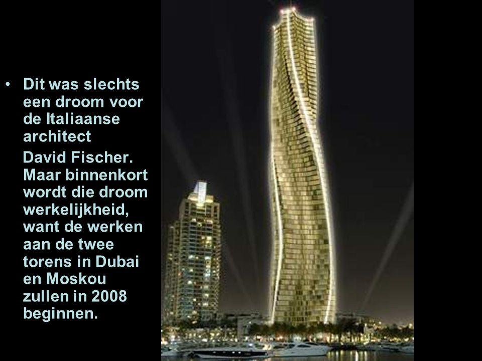 Dit was slechts een droom voor de Italiaanse architect David Fischer.