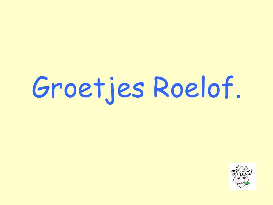 Groetjes Roelof.