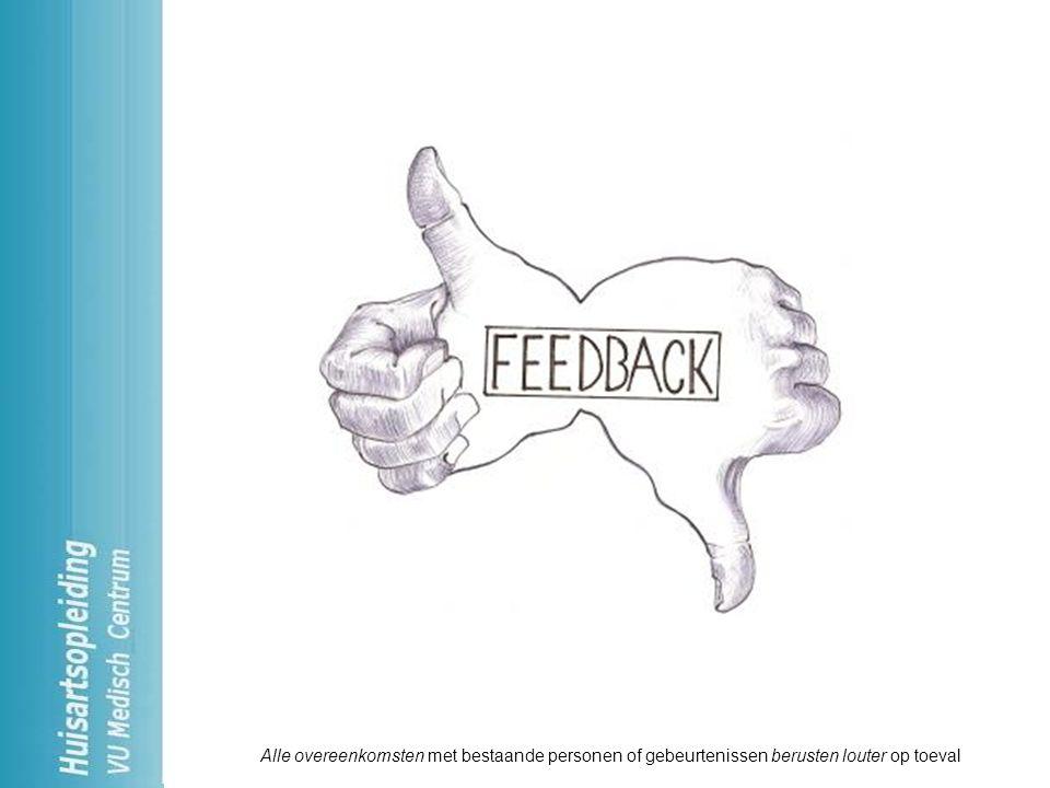 Goed feedback kunnen geven is belangrijk Feedback 1.Onmisbaar in samenwerking 2.Positieve en negatieve feedback 3.Compliment vs feedback 4.Wie feedback geeft, kan feedback terug verwachten.