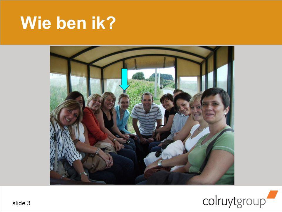 slide 3 Wie ben ik?