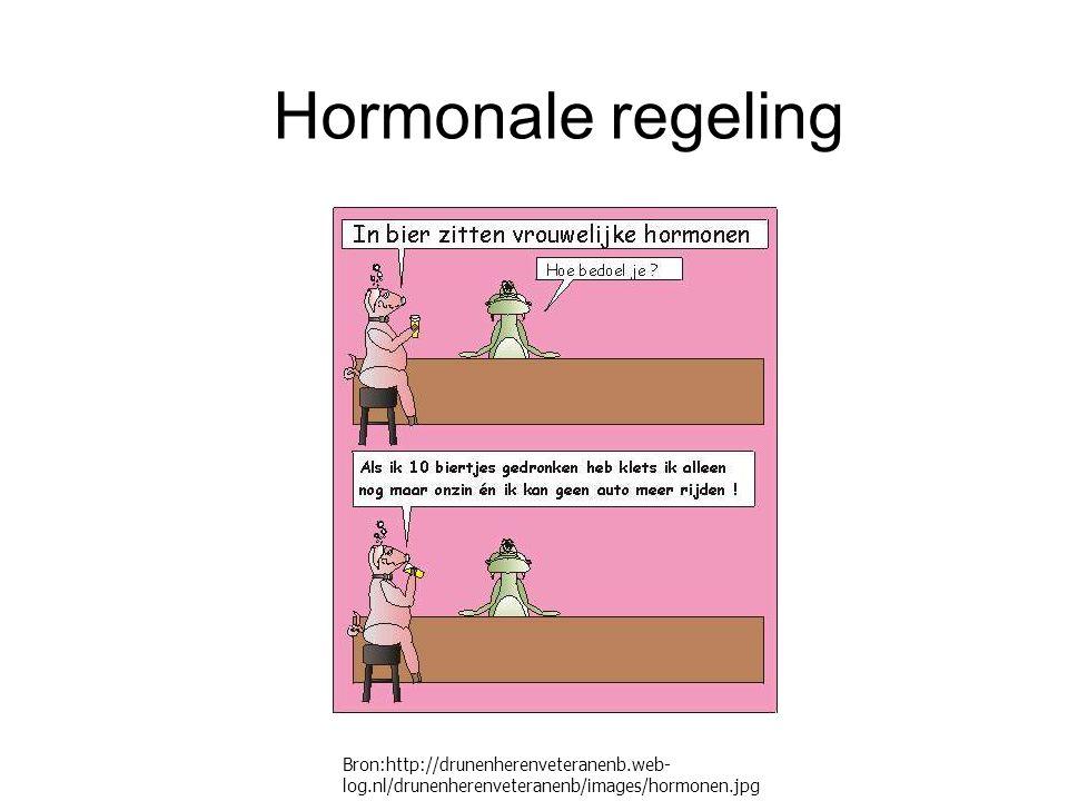Hormonale regeling Bron:http://drunenherenveteranenb.web- log.nl/drunenherenveteranenb/images/hormonen.jpg