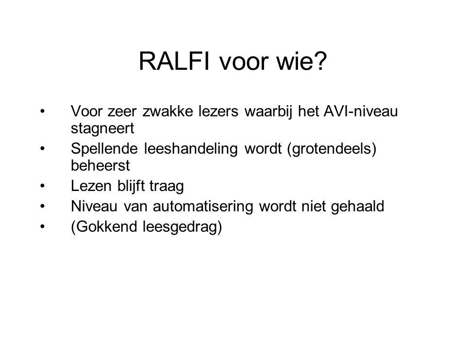 RALFI voor wie.