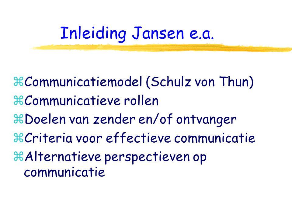 Inleiding Jansen e.a.