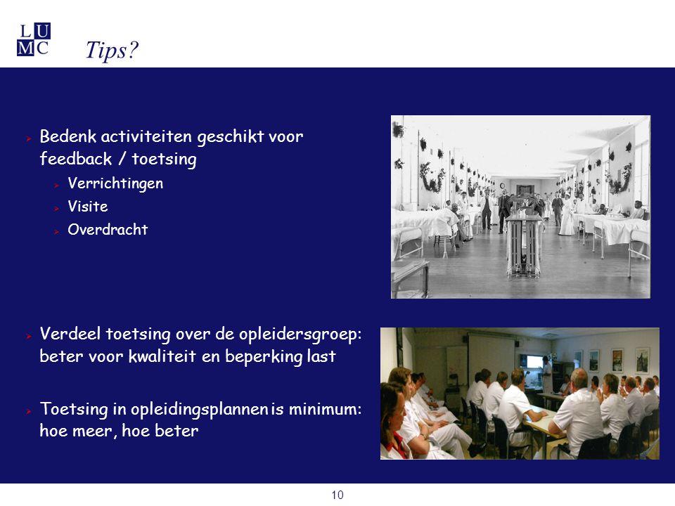 10 Tips.
