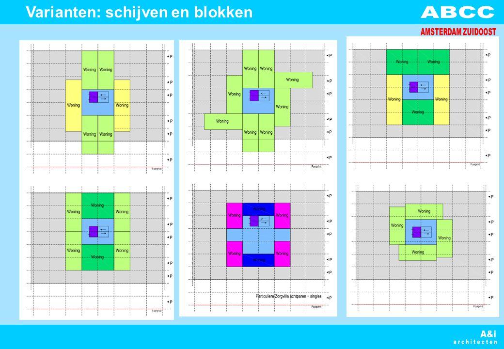 Varianten: schijven en blokken