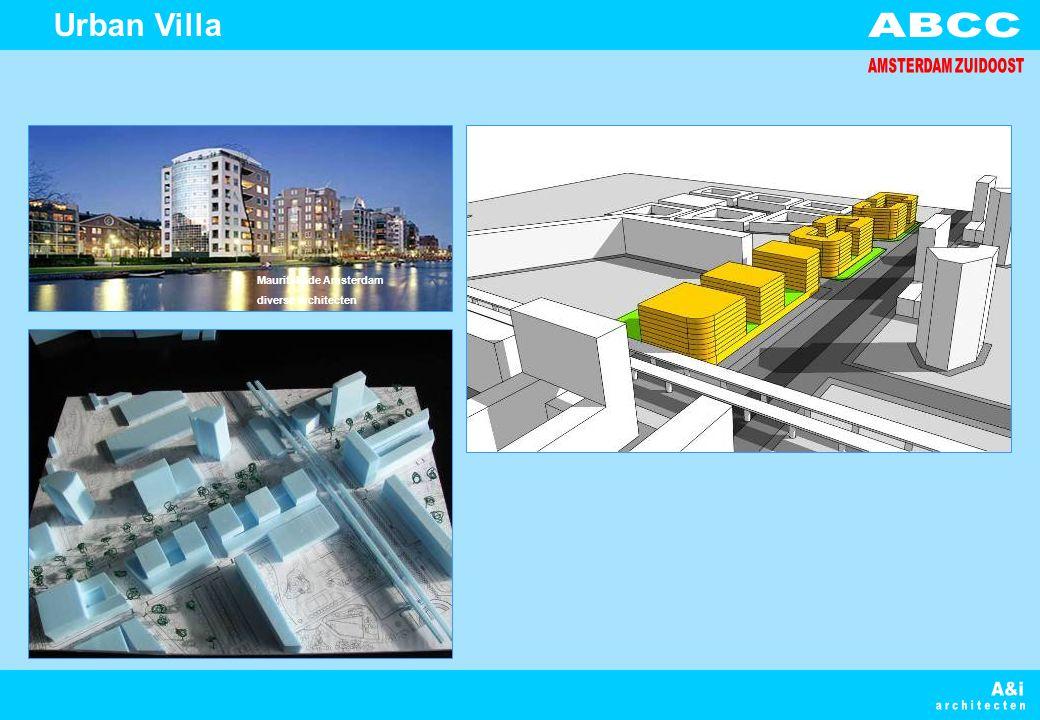 Urban Villa Mauritskade Amsterdam diverse architecten