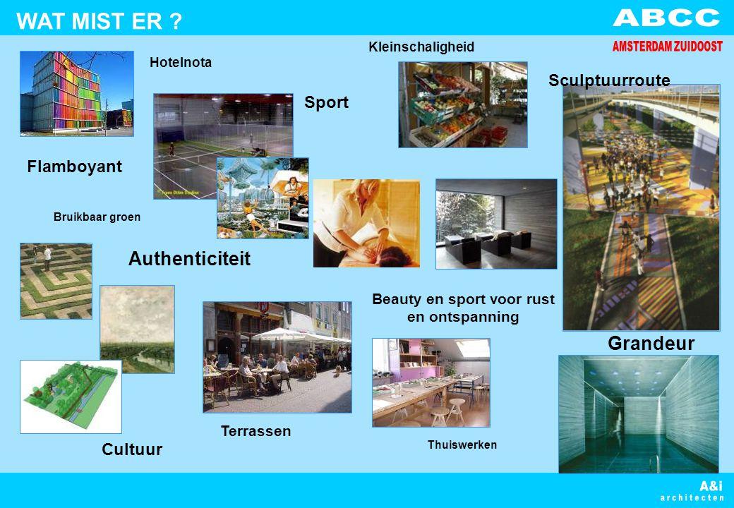 Beauty en sport voor rust en ontspanning Terrassen Thuiswerken Sport Flamboyant Grandeur WAT MIST ER .