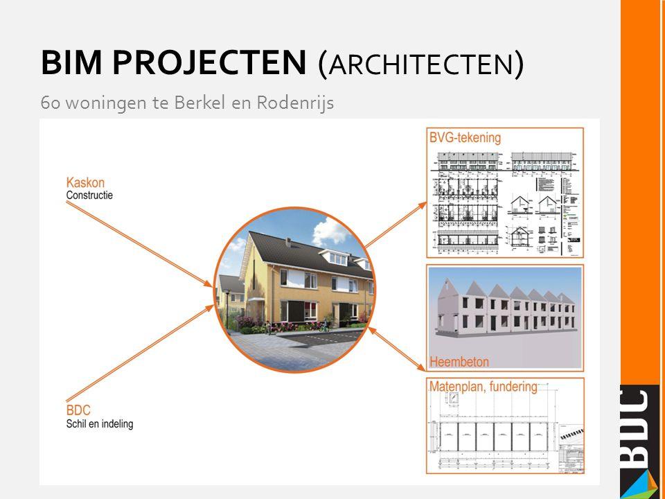 BIM PROJECTEN ( ARCHITECTEN ) 60 woningen te Berkel en Rodenrijs