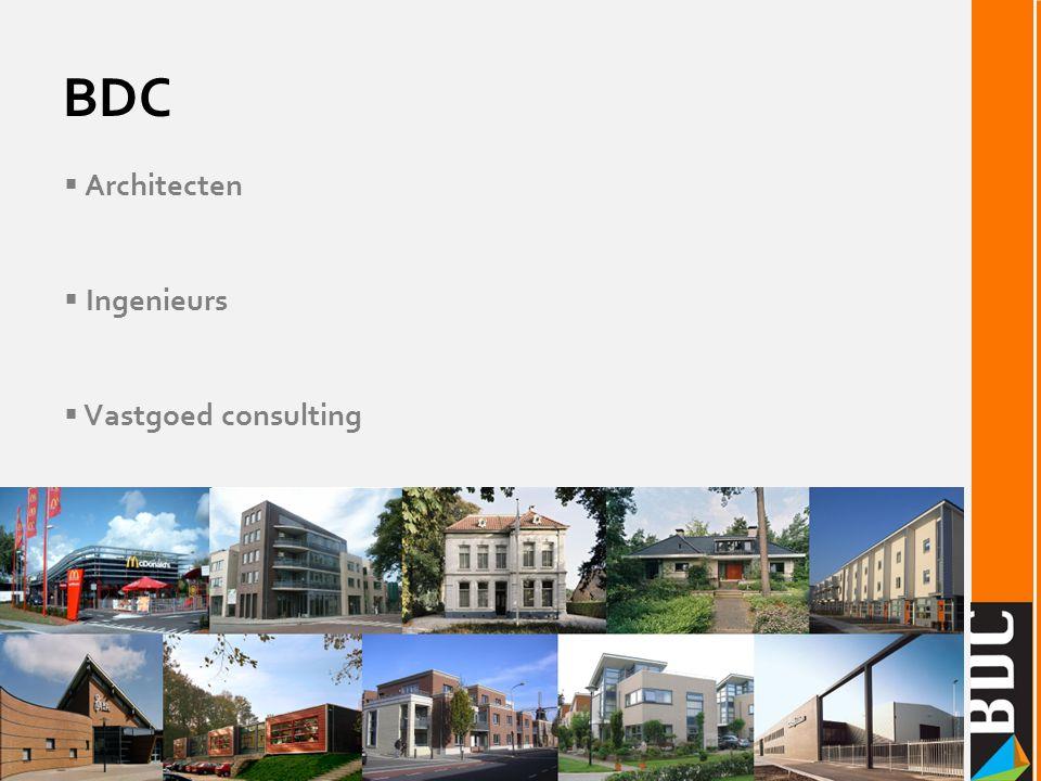  Architecten  Ingenieurs  Vastgoed consulting BDC