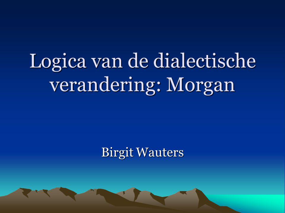 Logica van de dialectische verandering: Morgan Birgit Wauters