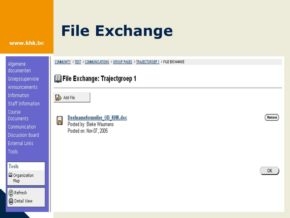 www.khk.be File Exchange