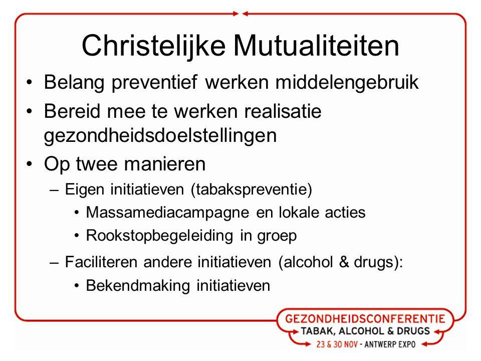 OCMW Uitgangspunten: –Drugproblematiek geplaatst in totaalproblematiek –Wegnemen van stressfactoren –Herstellen van basisrechten –Weerbaarheid verhogen