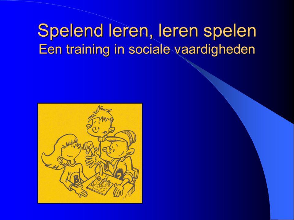 Waarom een sociale vaardigheidstraining? Voor wie is de training bestemd?