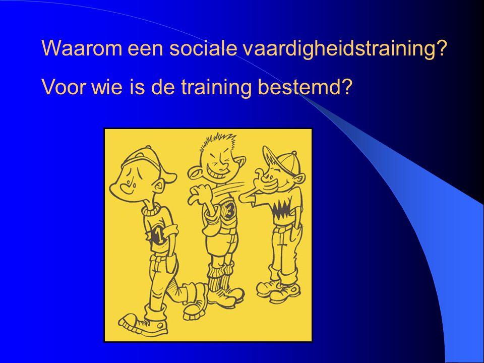 Waarom deze training.