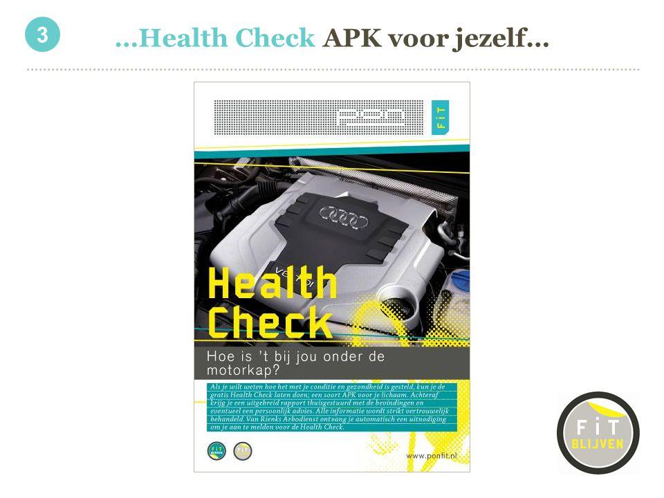 …Health Check APK voor jezelf… 3