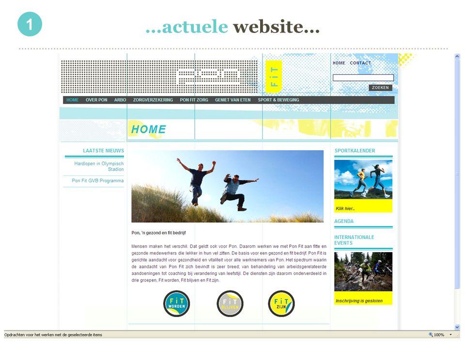 …actuele website… 1