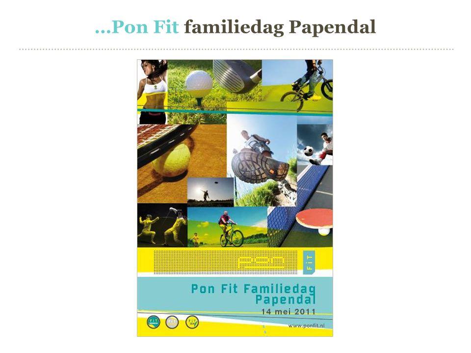 …Pon Fit familiedag Papendal