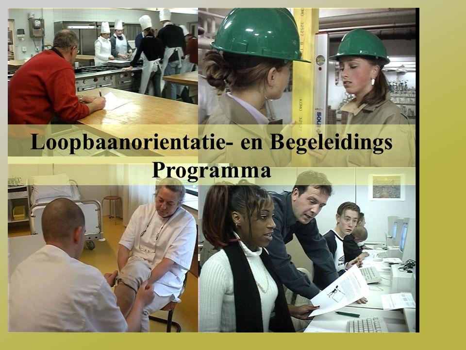 LOB Integraal loopbaanoriëntatie- en begeleidingsprogramma Voor VMBO TL 3e klas leerlingen Methodiek door VMBO & MBO