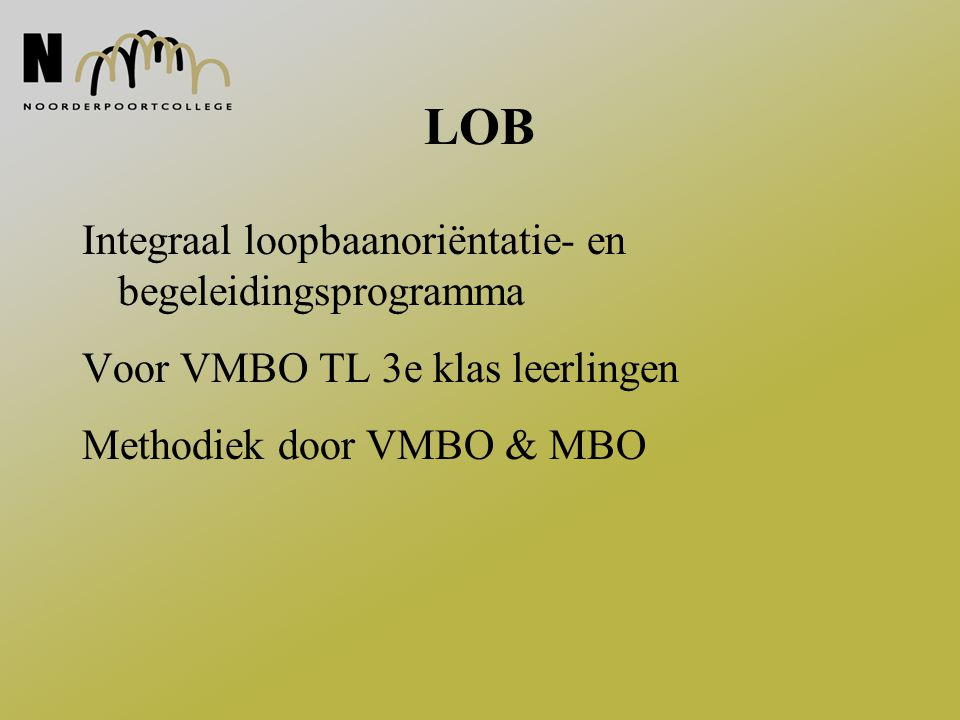 Rol MBO in methodiek Ontwikkeling praktijksimulaties Begeleiding groepen VO in de praktijksimulaties iedere woensdagmiddag Soms met inzet MBO deelnemers