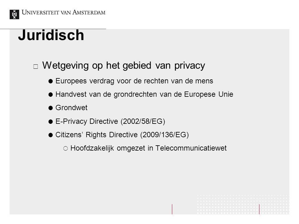 Juridisch  Wetgeving op het gebied van privacy  Europees verdrag voor de rechten van de mens  Handvest van de grondrechten van de Europese Unie  G