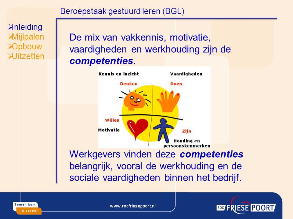  Inleiding  Mijlpalen  Opbouw  Uitzetten Uitzetten BOL De praktijkopdracht Volgens de 7 stappen Twee deelnemers : Vincent de Lange en Michiel Osinga