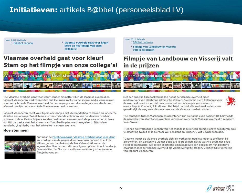 16 Resultaten Feedback / informatie .bv.